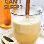 Pinterest pin for Warm Turmeric Cinnamon Milk