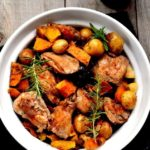 Harvest Chicken with Bacon and Rosemary | www.flavourandsavour.com