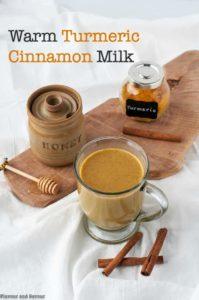 Warm Turmeric Cinnamon Milk title
