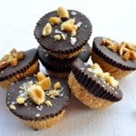Dark Chocolate Peanut Butter Cups  www.flavourandsavour.com #gluten-free #refined-sugar free #dairy-free