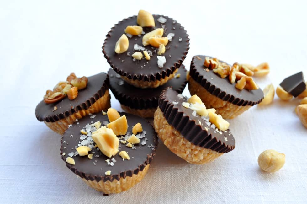 a pile of Chocolate Peanut Butter cups