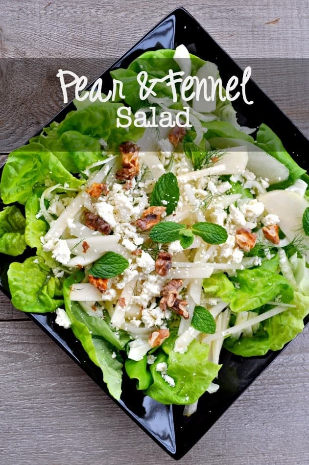 Pear and Fennel Salad