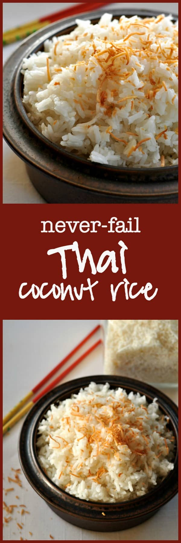 Thai Coconut Rice. Turns out perfectly every time. from Flavour and Savour