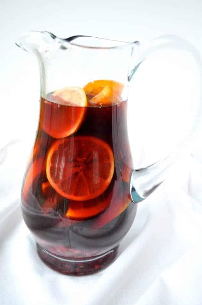 Citrus Pomegranate Sangria, 3 Favourite Sangria Recipes  www.flavourandsavour.com