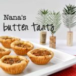 Nana's Butter Tarts. Traditional Canadian butter tart recipe with a gluten-free pastry option. |www.flavourandsavour.com