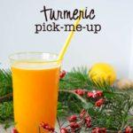 Turmeric Pick-Me-Up |www.flavourandsavour.com