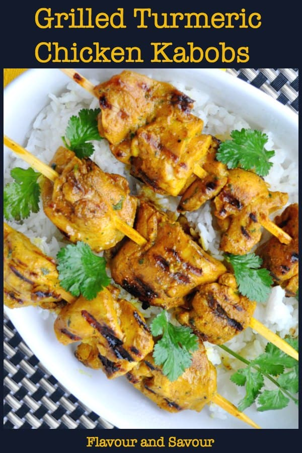 Thai Grilled Turmeric Chicken Kabobs title