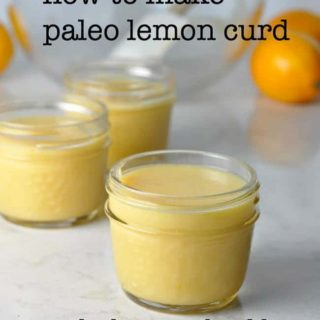 How to Make Paleo Lemon Curd, and why you should! Easy detailed instructions to make delicious lemon curd with no refined sugar. |www.flavourandsavour.com