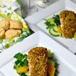 Pistachio-Crusted Salmon |www.flavourandsavour.com Easy and elegant. Incredibly flavorful. Full of omega 3's.