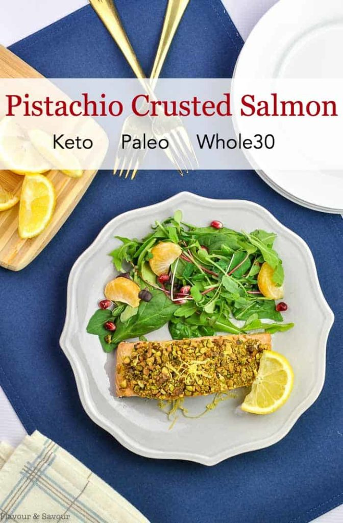 Title for Pistachio Crusted Salmon