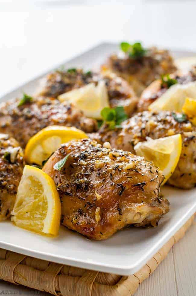 Easy Baked Lemon Chicken Flavour And Savour