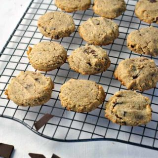 Grain-Free Chocolate Chip Cookies from Flavour and Savour