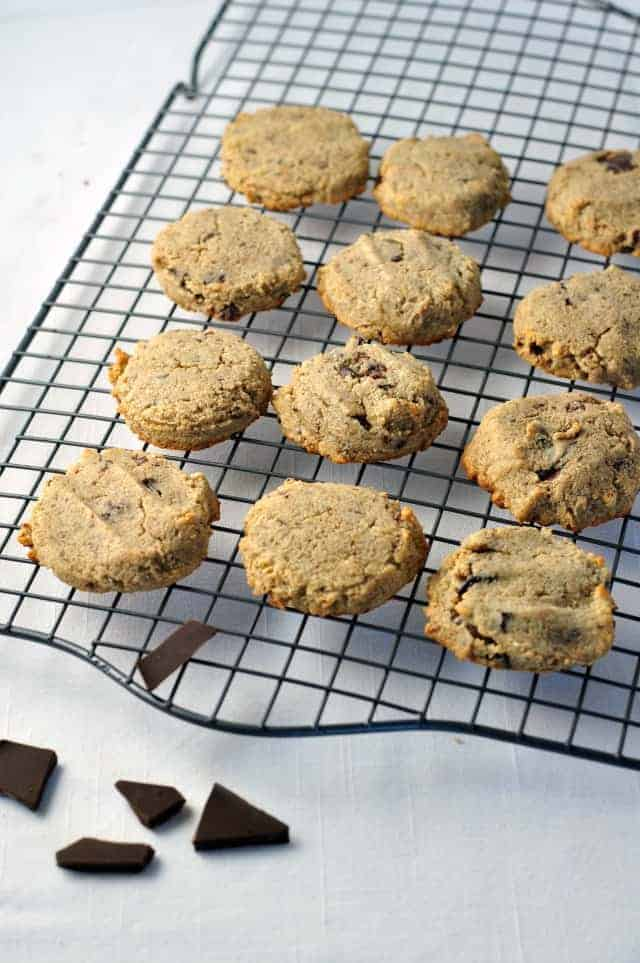 Grain-Free Chocolate Chip Cookies