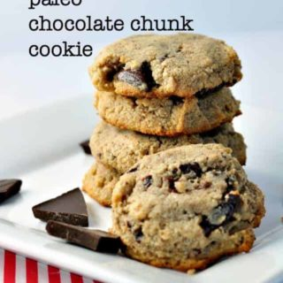 Paleo Chocolate Chunk Cookie from Flavour and Savour