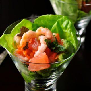 Shrimp Salad with Grapefruit and Mint |www.flavourandsavour.com