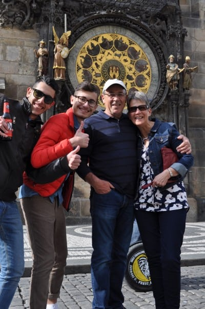 Eating and traveling in Prague