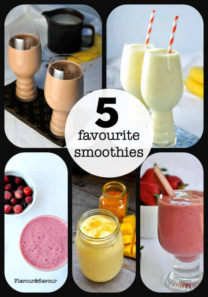 Five Favourite Smoothies from Flavour and Savour