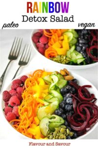 Rainbow Detox Salad pin