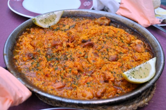 Andalusia. Paella in Ronda