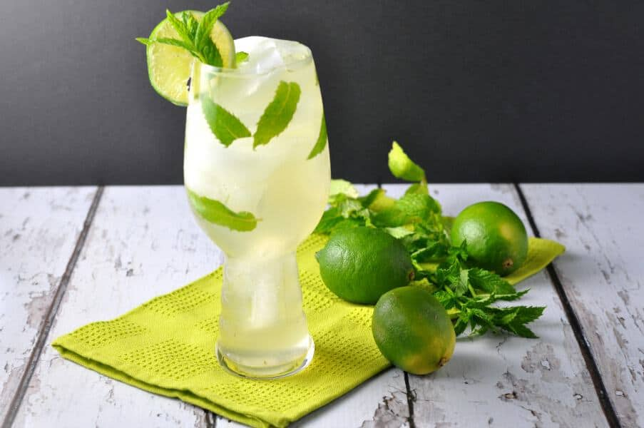 Ginger Mint Cooler. Make it a mocktail or a cocktail, but make it today! |www.flavourandsavour.com