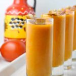 Spanish Chilled Tomato Soup--Salmorejo. It's a cousin to Gazpacho, but even better! |www.flavourandsavour.com