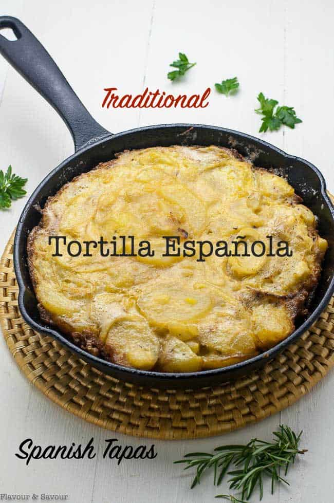 Pinterest Pin Tortilla Espanola