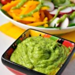 Dairy-free Avocado Crema. It's a dip, it's a dressing, it's a topper for tacos! |www.flavourandsavour.com