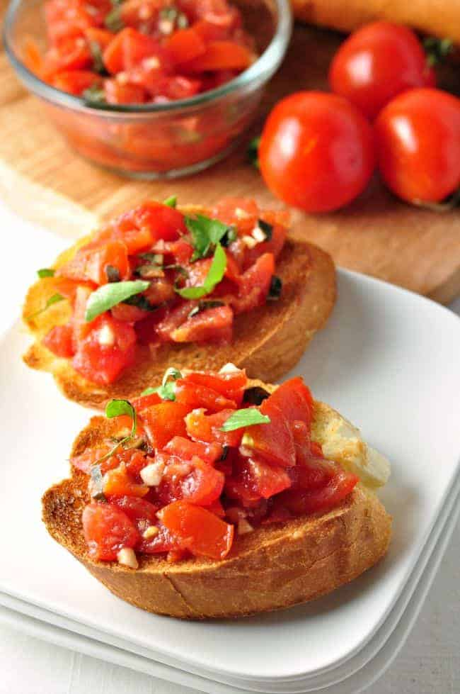 Classic Tomato Bruschetta from Flavour & Savour