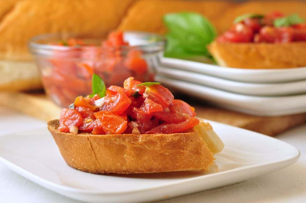 Classic Tomato Bruschetta by Flavour and Savour