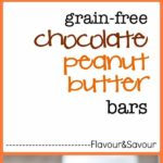 Grain-free, no-bake Chocolate Peanut Butter bars. Ready in 20 minutes!