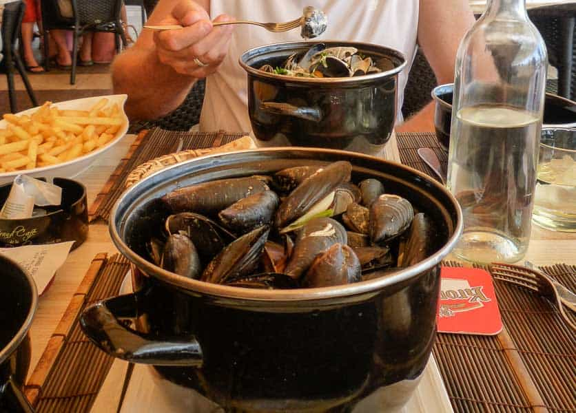 Mussels in Provence