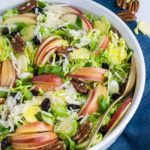 Shaved Brussels Sprouts Salad with Cranberries and Pecans