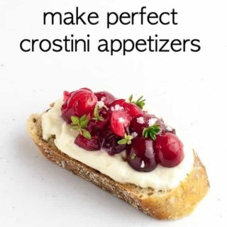 how to make perfect crostini appetizers title