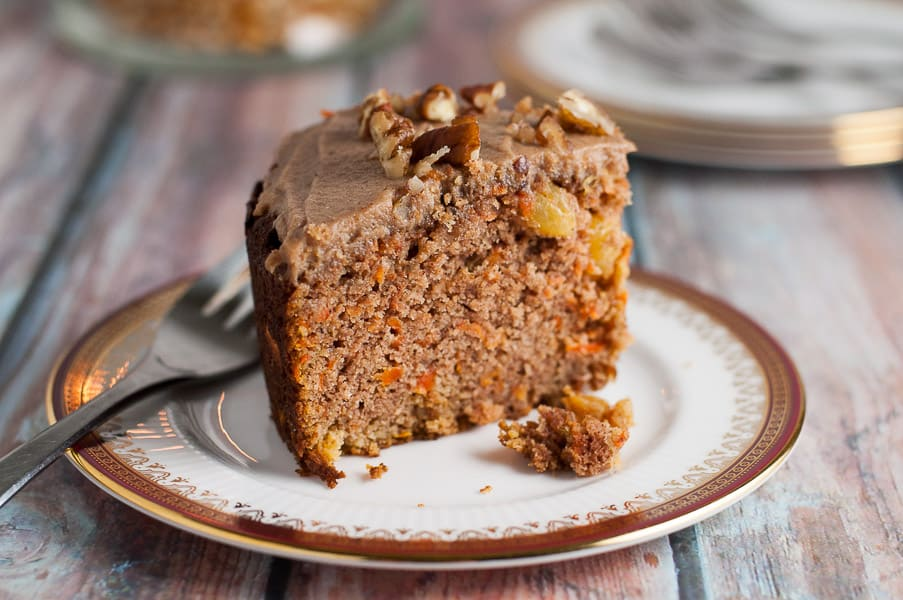 Crowd-Pleaser Paleo Carrot Cake