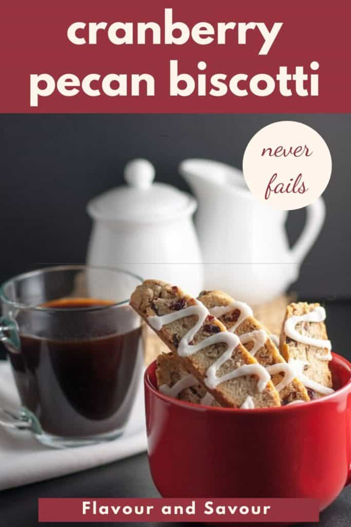 Image and text for Cranberry Pecan Biscotti