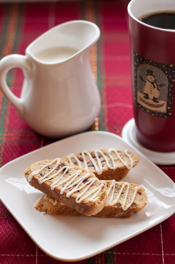 Never-fail Cranberry Pecan Biscotti.