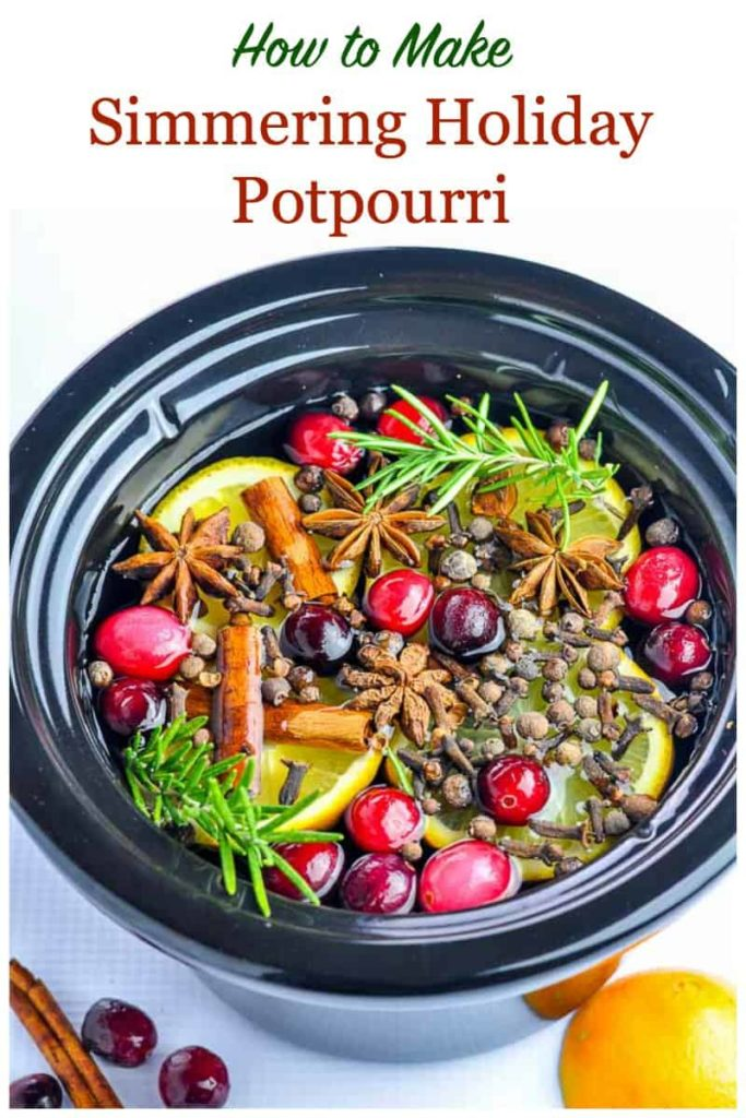 Make Your Own Simmering Holiday Potpourri Flavour And Savour