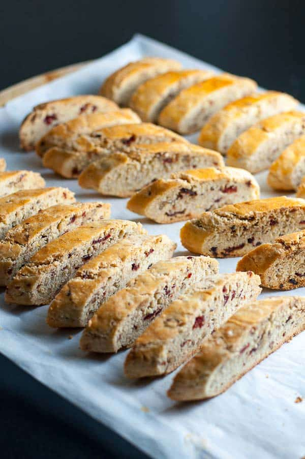 Never-Fail Cranberry Pecan Biscotti. This is a tested recipe that always turns out perfectly!