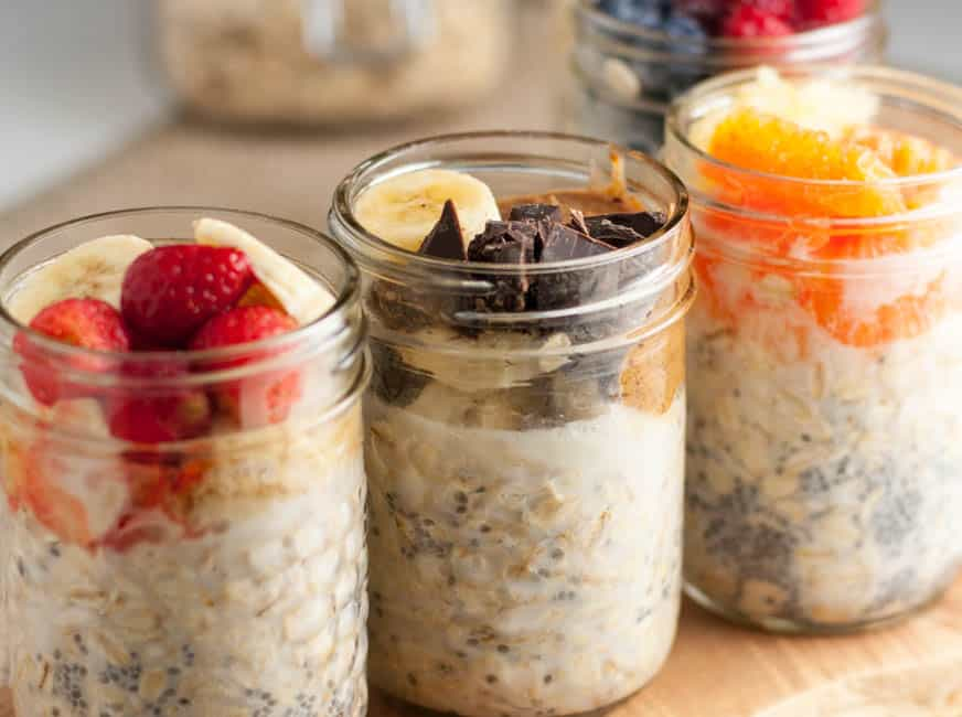 Overnight Oats: Breakfast to Look Forward To. 5 ideas.