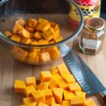 Fast and Fancy Taco Butternut Squash Bites. Only 3 ingredients. Just toss and roast. Kids love it, too. |www.flavourandsavour.com