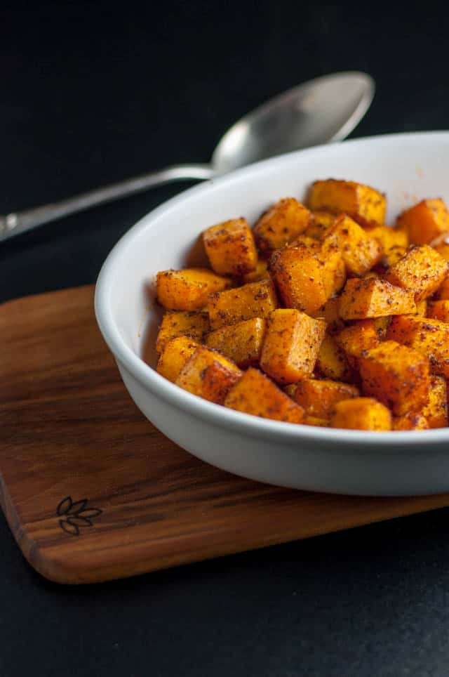 Fast and fancy Butternut Squash Bites