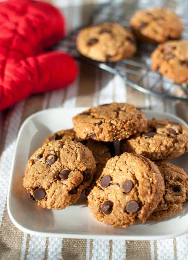 My Favourite Gluten-Free Chocolate Chip Cookies