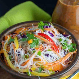 Super Crunchy Thai Noodle Salad
