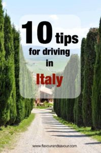 10 Tips for Driving in Italy when you're a North American | www.flavourandsavour.com