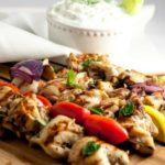 Low-Carb Greek Lemon Chicken Kabobs title