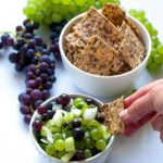 Grape Salsa with Lime and Cilantro
