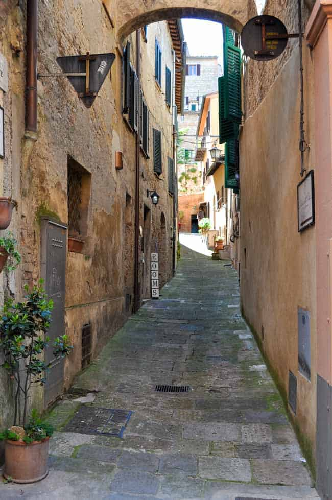 Traveling in Tuscany. Montepulciano