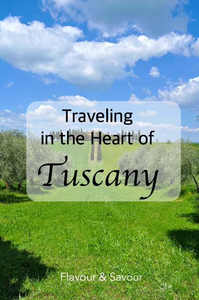 Traveling in the Heart of Tuscany, one for your bucket list!