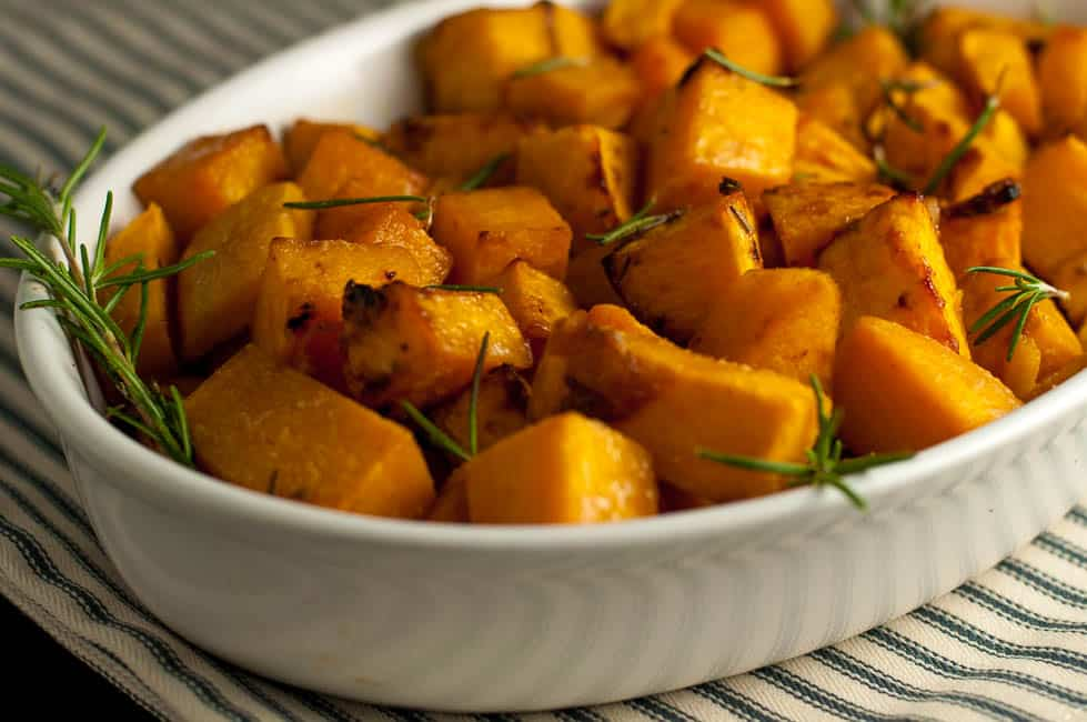 It's a little sweet, a little spicy and this crispy Maple Dijon Roasted Butternut Squash will be an ideal side dish for fall or winter dinner. |www.flavourandsavour.com