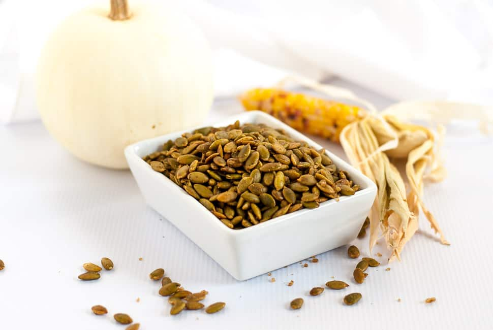 Spiced Pumpkin Seeds (Pepitas) - Flavour and Savour